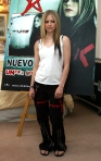 AVRIL LAVIGNE PROMOTES HER CD - UNDER MY SKIN