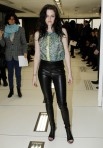 Celebrities Attend Balenciaga Fashion Show