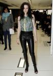 Celebrities Attend Balenciaga Fashion Show