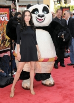 Angelina Jolie at the DVD Release of Kung Fu Panda and Po's new adventure Secrets of the Furious Five, held at Grauman's Chinese Theater in Hollywood, Ca. November 9, 2008. Pictured: Angelina Jolie Ref: SPL60099 091108 Picture by: Curtis Leigh / Splash News Splash News and Pictures Los Angeles: 310-821-2666 New York: 212-619-2666 London: 870-934-2666 photodesk@splashnews.com