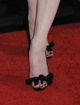 "Actress Evan Rachel Wood's shoes at AFI FEST 2008 Centerpiece Gala Screening Of ""The Wrestler"" at Grauman's Chinese Theatre on November 6, 2008 in Los Angeles, California. AFI FEST 2008 Centerpiece Gala Screening Of ""The Wrestler"" Grauman's Chinese Theatre Hollywood, CA United States November 6, 2008 Photo by Jeffrey Mayer/WireImage.com To license this image (16125219), contact WireImage.com"