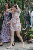 AgNews – Rio de Janeiro 31 de Outubro de 2012, Deborah Secco e Thiago Martins gravam Loucos Por Elas na praia da Macumba RJ Fotos: Dilson Silva / AgNews